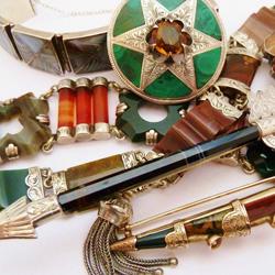 scottish agate jewellery